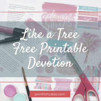 Like a Tree | Free Printable Devotion