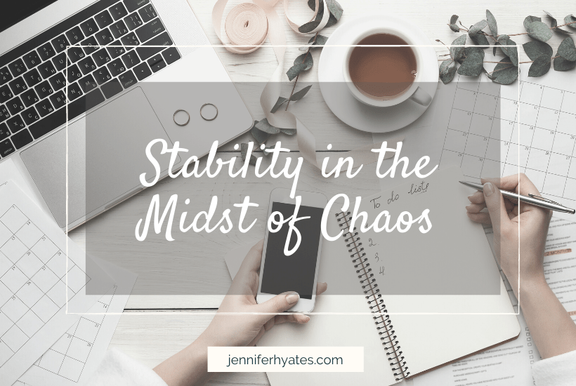 Stability in the Midst of Chaos