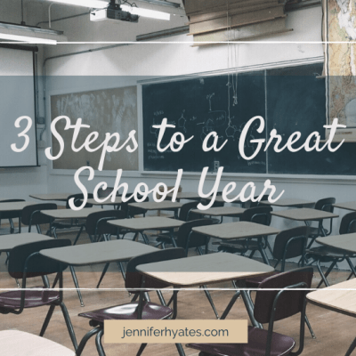 3 Steps to a Great School Year