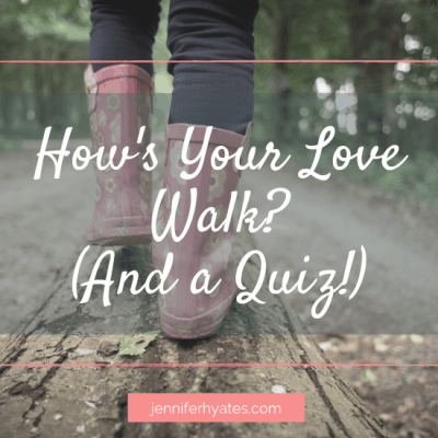 How's Your Love Walk? (And a Quiz!)