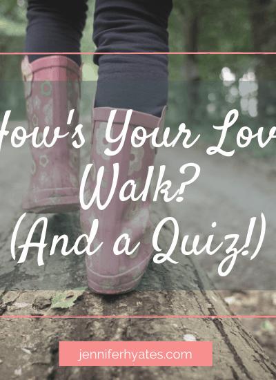How's Your Love Walk