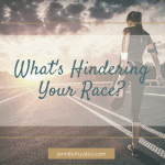 What's Hindering Your Race