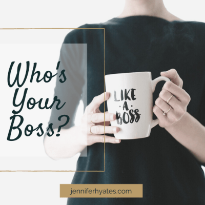 Who's Your Boss?