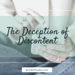 The Deception of Discontent