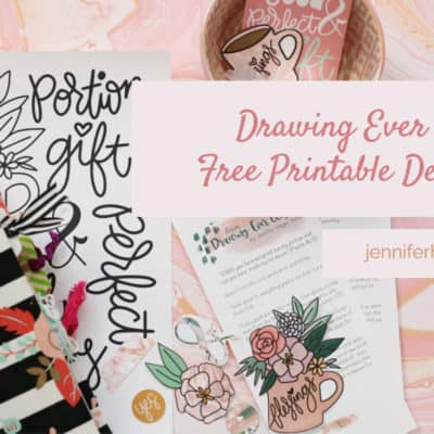 Drawing Ever Closer | Free Printable Devotion