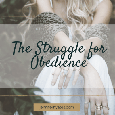 The Struggle for Obedience