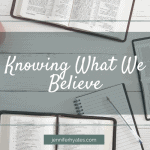 Knowing What We Believe