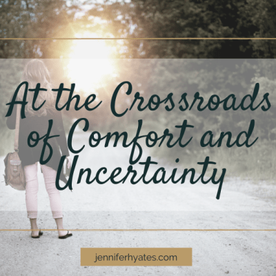 At the Crossroads of Comfort and Uncertainty